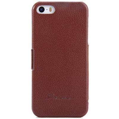 Фотография Litchi Pattern Style PU Material Protective Cover Case for iPhone 5 5S
