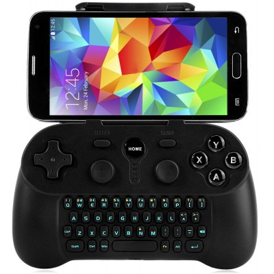 Wireless Blutooth 3.0 Gamepad with Keyboard