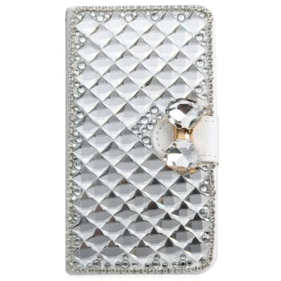 ФОТО PU and PC Material Diamond Design Protective Cover Case for Samsung Galaxy S5 i9600