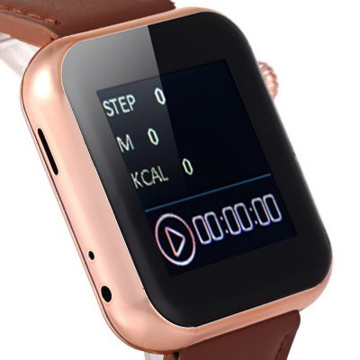 W001 Bluetooth V4.1 Smart Watch Dialer Music Anti - lost Pedometer SMS Camera Control