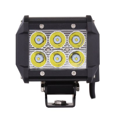 MZ - 06 18W 1260lm 6 Cree XB - D LEDs White Light Spotlight Head Light FoglampCar Lights<br>MZ - 06 18W 1260lm 6 Cree XB - D LEDs White Light Spotlight Head Light Foglamp<br><br>Type   : Fog Lights, Headlights<br>LED type: CREE<br>LED/Bulb quantity: 6<br>Feature: Spotlight<br>Light mode: Steady<br>Emitting color : White<br>Voltage : 10V-30V<br>Power : 18W<br>Lumens: 1260LM<br>Type of lamp-house : LED<br>Apply lamp position: External Lights<br>Product weight   : 0.580 kg<br>Package weight   : 0.7 kg<br>Product size (L x W x H)  : 9.4 x 7.8 x 6.3 cm / 3.69 x 3.07 x 2.48 inches<br>Package size (L x W x H)  : 16 x 12 x 10 cm / 6.29 x 4.72 x 3.93 inches<br>Package Contents: 1 x Work light (30cm wire), 1 x Bracket, 5 x Screws, 1 x Nuts, 5 x Gaskets