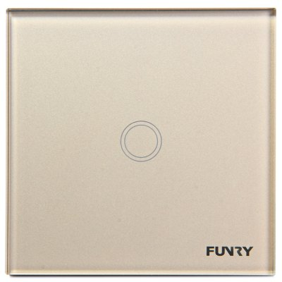 FUNRY Home Touch Remote Switch 1 Gang Intelligent Control Switch  -  UK Standard