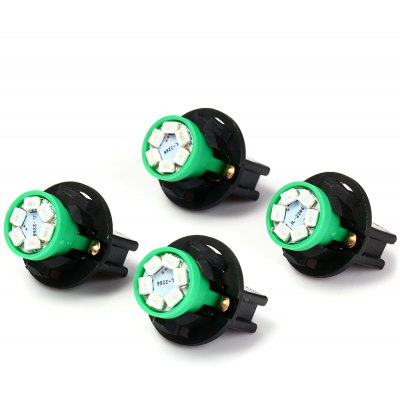 T10 SMD 1210 Green Light LED Instrument Panel Dash Lamp