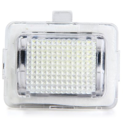 JHBK040 2pcs DC 12V 18 LEDs Number License Plate Light