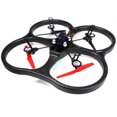 ФОТО WLtoys V666 5.8G FPV 6 Axis 2.4 G RC Quadcopter with HD Camera Monitor RTF
