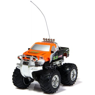 8013D Electric ORV Model Toy Radio Control 27MHz Big Wheel SUV Off - road Car Doll