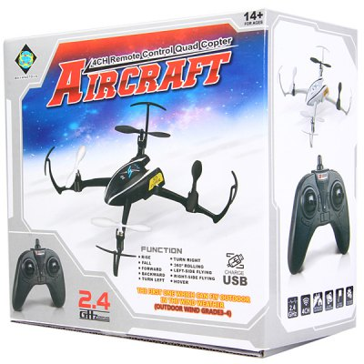 Фотография BAYANGTOYS X9 2.4G 4CH 6 Axis Gyro RC Quadcopter with 3D Rollover Function