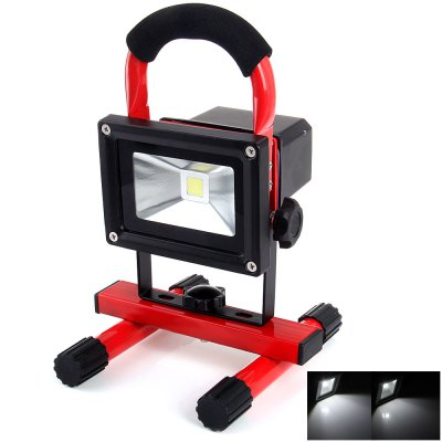 YouOKLight 850LM 10W Rechargeable LED Floodlight with Car Charger