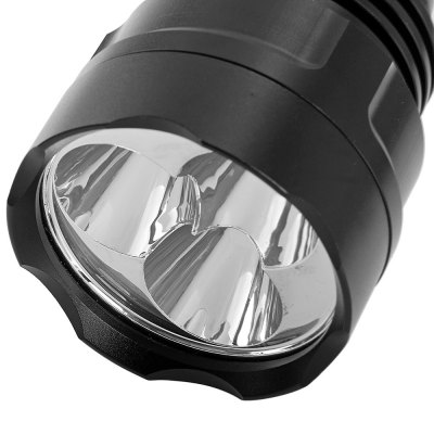 Фотография YS4 3 x Cree XML T6 1800Lm 5 Modes Water Resistant Camping 18650 LED Flashlight