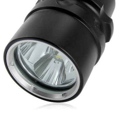 YS5 3 Cree XM L2 LEDs 2100Lm Water Resistant 18650 LED FlashlightLED Flashlights<br>YS5 3 Cree XM L2 LEDs 2100Lm Water Resistant 18650 LED Flashlight<br><br>Brand: Sipik<br>Model: YS5<br>Emitter Type: Cree XM-L2<br>Total Emitter: 3 x Cree XM-L2<br>Lumens: 2100Lm<br>Color temperature: 6000-7000K<br>Switch Type: Clicky, Side Clicky<br>Switch Location: Tail Cap<br>Function: EDC, Hiking, Night Riding, Diving, Camping, Seeking Survival, Hunting, Walking<br>Battery Type: 18650<br>Battery Quantity: 2 x 18650 battery (not included)<br>Mode: Customized Brightness Levels and A Multitude of Functions<br>Waterproof: IP-68 Standard Water-resistant<br>Power Source: Battery<br>Reflector: Aluminum Smooth Reflector<br>Lens: Glass Lens<br>Body Material: Aluminium Alloy<br>Available Light Color: Cool White<br>Available Color: Black<br>Product weight: 0.241 kg<br>Package weight: 0.34 kg<br>Product size (L x W x H): 21 x 4.4 x 3 cm / 8.25 x 1.73 x 1.18 inches<br>Package size (L x W x H): 25 x 5 x 5 cm / 9.83 x 1.97 x 1.97 inches<br>Package Contents: 1 x YS5 Cree XM-L2 Diving LED Flashlight, 1 x Lanyard