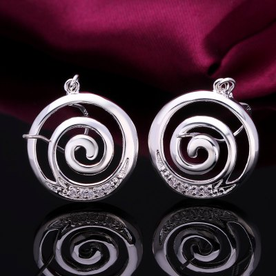 Pair of Chic Womens Rhinestone Inlaid Circle Shape EarringsEarrings<br>Pair of Chic Womens Rhinestone Inlaid Circle Shape Earrings<br><br>Earring Type: Drop Earrings<br>Gender: For Women<br>Material: Rhinestone<br>Style: Trendy<br>Shape/Pattern: Round<br>Length: 3.5CM<br>Weight: 0.038KG<br>Package Contents: 1 x Earring(Pair)