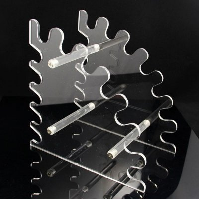 K003 12 Slots Acrylic Electronic Cigarette Stand