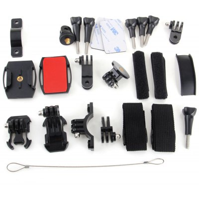 SJCAM Action Camera Parts Set Camcorders Accessories Holder Band Double Sided Adhesive Tape
