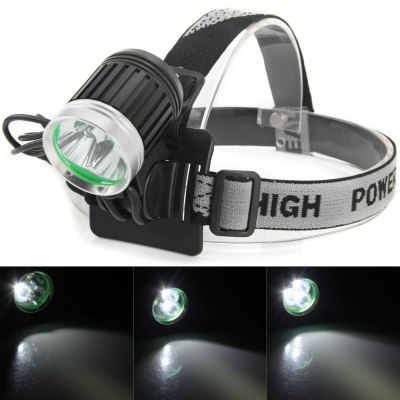 2100LM 4 Modes 3 Cree XML T6 LEDs Bicycle Light Lamp with 18650 Battery Pack, Charger