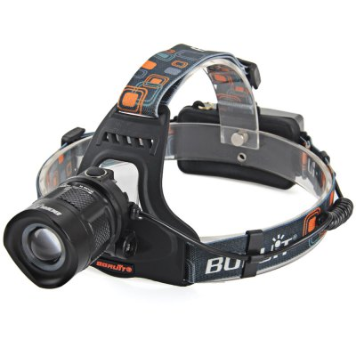 Boruit RJ  -  2157  XM  -  L2 Water Resistant 18650 LED HeadlightHeadlights<br>Boruit RJ  -  2157  XM  -  L2 Water Resistant 18650 LED Headlight<br><br>Headlight Brand: Boruit<br>Model: RJ-2157<br>Emitters Quantity: 1<br>Luminous Flux: 1200Lm<br>Feature: Angle adjustment,Can be used as headlamp or bicycle light,Stainless Steel Bezel<br>Function: Camping,Exploring,Fishing,Hiking,Household Use,Hunting,Night Riding,Walking<br>Battery Type: 18650<br>Rechargeable: Yes<br>Waterproof: IP-6 Standard Waterproof<br>LED Lifespan: Up to 100000 hrs<br>Power Source: Battery,DC 12-60V Power<br>Reflector: Aluminum Smooth Reflector<br>Lens: Glass Lens<br>Beam Distance: 200-250m<br>Body Material: Aluminium Alloy<br>Available Light Color: White<br>Color: Black<br>Product weight: 0.210 kg<br>Package weight: 0.290 kg<br>Product size (L x W x H): 12.50 x 12.00 x 8.50 cm / 4.92 x 4.72 x 3.35 inches<br>Package size (L x W x H): 13.00 x 12.00 x 10.50 cm / 5.12 x 4.72 x 4.13 inches<br>Package Contents: 1 x Boruit RJ-2157 XM-L2 Ourdoor LED Headlamp Bicycle Light