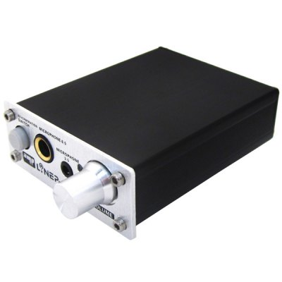 A907 2 Channel PC Microphone Sound Amplifier