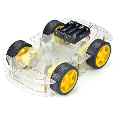 Arduino Compatible DIY Motor Smart Robot Car Chassis Kit 4 WD