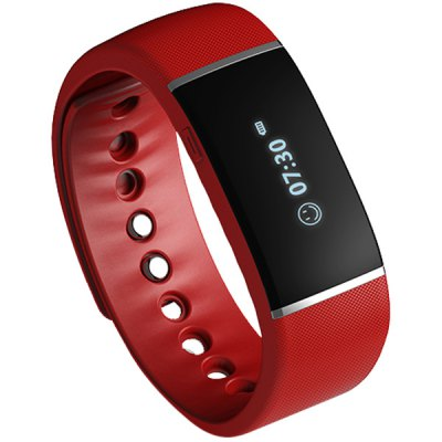 E  -  Band Bluetooth 4.0 Wristband Smart Watch Sports Tracking Sleep Monitoring IP67Smart Wristband<br>E  -  Band Bluetooth 4.0 Wristband Smart Watch Sports Tracking Sleep Monitoring IP67<br><br>Brand: E-Band<br>Bluetooth version: Bluetooth 4.0<br>People: Unisex table<br>Waterproof: Yes<br>Waterproof Rating : IP67<br>Colors: Black,Blue,Red<br>Screen: Yes<br>Screen type: OLED<br>Language: English<br>Battery Type: Li-polymer<br>Battery Capacity: 600mAh<br>Standby time: About 200 hours<br>Functions: Alarm Clock,Avoid phone loss,Call reminder,Camera remote control,Music Player,Pedometer,Sedentary reminder,Sleep management,SMS Reminding<br>Shape of the dial: Rectangle<br>Case material: PC<br>Band material: TPU<br>Product weight: 0.025 kg<br>Package weight: 0.155 kg<br>Product size (L x W x H): 24.00 x 2.50 x 1.00 cm / 9.45 x 0.98 x 0.39 inches<br>Package size (L x W x H): 25.00 x 3.50 x 2.00 cm / 9.84 x 1.38 x 0.79 inches<br>Package Contents: 1 x E - Band Smart Wristband, 1 x Chinese and English Munual, 1 x USB Cable