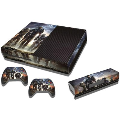Game Console Gamepad Full Body Sticker with Attractive Pattern for Xbox One