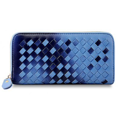 Gradient Color Design Wallet For Women