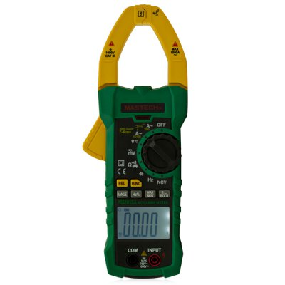 MASTECH MS2015A AC Clamp Meter 6000 Counts Auto Power Off with True RMS