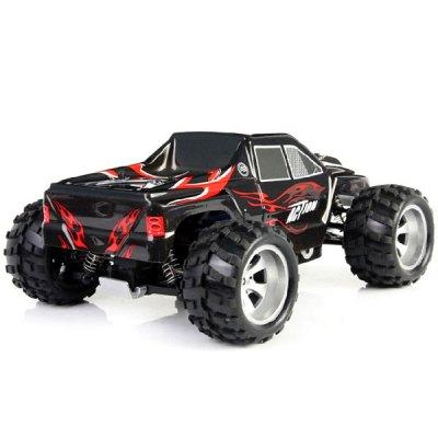 Wltoys A979 1/18 Scale Realistic 4WD 2.4GHz RC Truck Monster Racing 50KMH High Speed Car ModelRC Cars<br>Wltoys A979 1/18 Scale Realistic 4WD 2.4GHz RC Truck Monster Racing 50KMH High Speed Car Model<br><br>Brand: WLtoys<br>Car Power: 4394<br>Drive Type: 4 WD<br>Motor Type: Brushed Motor<br>Package Contents: 1 x Wltoys A979 RC Car, 1 x Transmitter, 1 x Charger, 1 x Transverter, 1 x English Manual<br>Package size (L x W x H): 32.00 x 23.00 x 25.00 cm / 12.6 x 9.06 x 9.84 inches<br>Package weight: 1.800 kg<br>Remote Control: 2.4GHz Wireless Remote Control<br>Transmitter Power: 4 x 1.5V AA (not included)<br>Type: Monster Truck