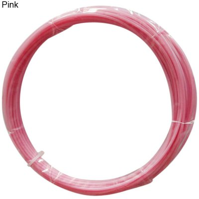 1.75mm Pink ABS Filament High Accuracy 3D Printer Accessories  -  10M