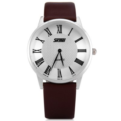 Skmei 9092 Men Japan Quartz Watch Water Resistant Ultra - thin WristwatchMens Watches<br>Skmei 9092 Men Japan Quartz Watch Water Resistant Ultra - thin Wristwatch<br><br>Available Color: Black,Brown,White<br>Band material: Leather<br>Brand: Skmei<br>Case material: Stainless Steel<br>Clasp type: Pin buckle<br>Display type: Analog<br>Movement type: Quartz watch<br>Package Contents: 1 x Skmei 9092 Watch<br>Package size (L x W x H): 25.20 x 5.00 x 1.70 cm / 9.92 x 1.97 x 0.67 inches<br>Package weight: 0.0870 kg<br>Product size (L x W x H): 24.20 x 4.00 x 0.70 cm / 9.53 x 1.57 x 0.28 inches<br>Product weight: 0.0370 kg<br>Shape of the dial: Round<br>The band width: 1.8 cm / 0.71 inches<br>The dial diameter: 4.0 cm / 1.57 inches<br>The dial thickness: 0.7 cm / 0.28 inches<br>Watch style: Business<br>Watches categories: Male table<br>Water resistance : 30 meters