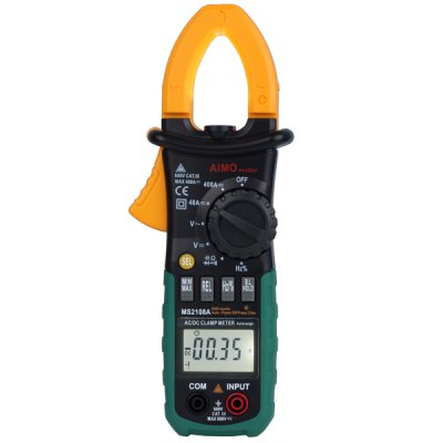 MS2108A Digital Clamp Multimeter Auto Range Max. / Min. Value Measurement Holding