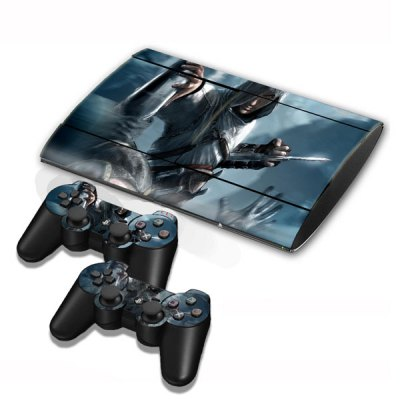 Cover Skin Stickers for PS3 Game Console and Controllers with Alairt of Assassin Creed