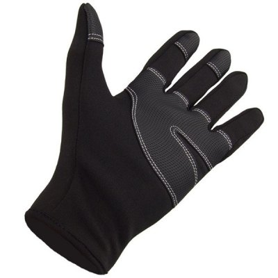 Paired FLL Winter Windproof Full-finger Cycling GlovesCycling Gloves<br>Paired FLL Winter Windproof Full-finger Cycling Gloves<br><br>Color: Black<br>Material: Windstopper Softshell,  Fleeces<br>Package Contents: 2 x Glove<br>Package size (L x W x H): 20.00 x 12.00 x 2.00 cm / 7.87 x 4.72 x 0.79 inches<br>Package weight: 0.120 kg<br>Size: S,M,L,XL<br>Style Design: Full Finger