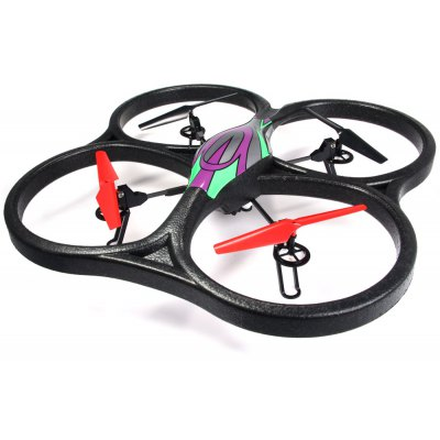 WLtoys V666 5.8G FPV 6 Axis 2.4 G RC Quadcopter with HD Camera Monitor RTF