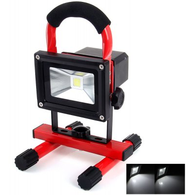 YouOKLight 10W 850 Lumens Daylight Working LED Floodlight with Car Charger