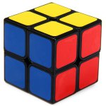 Shengshou 7106A - 3 Magic Cube 2 x 2 x 2 Aurora Puzzle Toy Special for Game Competition
