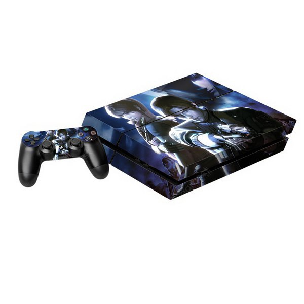 Resident Evil 6 Style Game Console Gamepad Controller Stickers Skin for PS4