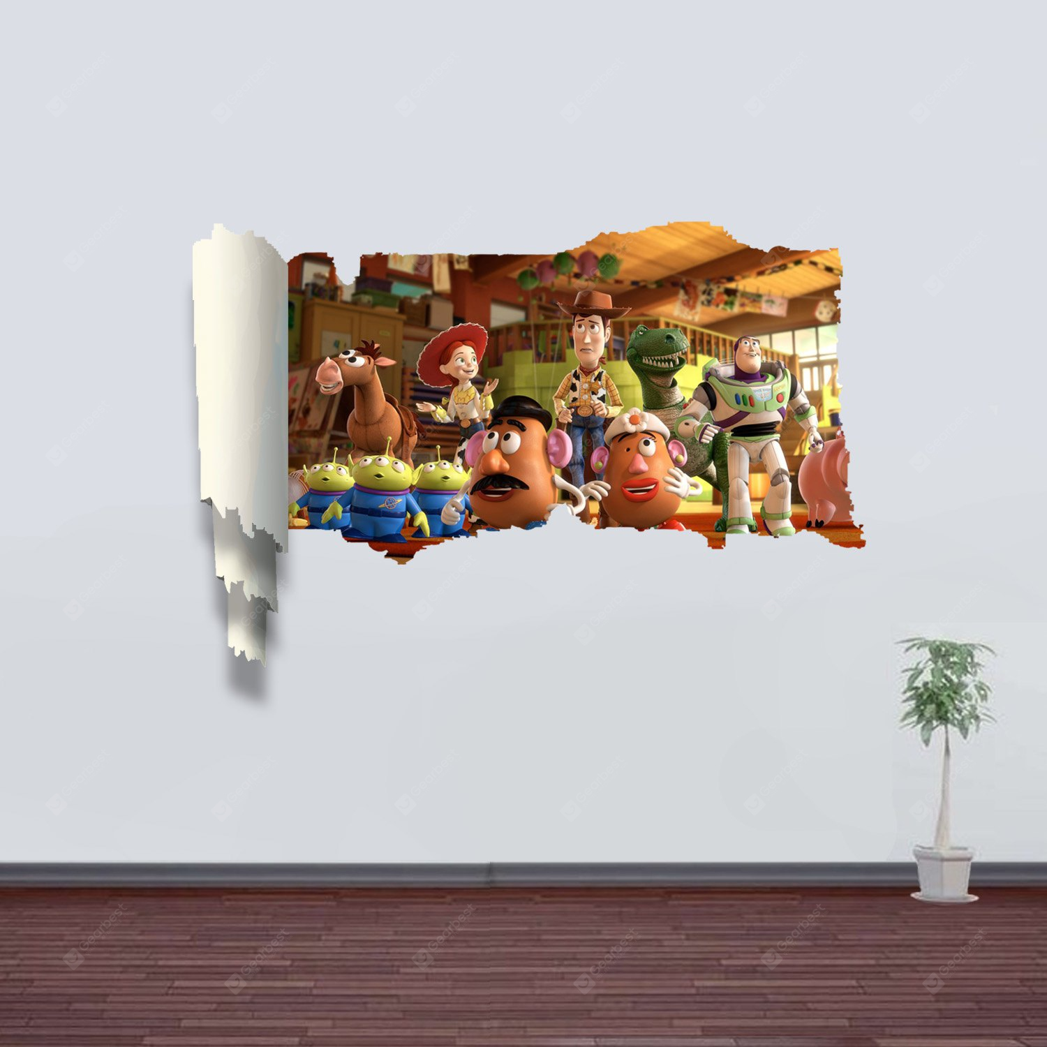 Toy Story 3d Wall Light : Toy Story Pattern Home Appliances Decoration 3D Wall Sticker Reviews Best Home Decor Gadgets ...