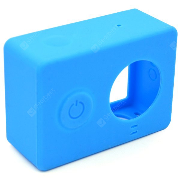 Silicone Soft Protective Cover Case for Xiaomi Yi Action Sport Camera
