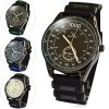 cheap V6 Big Dial Quartz Watch Outdoor Sports Wristwatch with Rubber Strap for Men