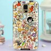 Buy Stylish Cartoon Pattern TPU PU Material Back Cover Case Samsung Galaxy S5 i9600 SM - G900 COLORFUL