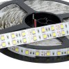 best HML 5M 144W SMD 5050 600 LEDs Dual Row Strip Ribbon Light + Controller