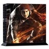 Cool Man Style Game Console and Handle Protection Stickers Skin Decal for PS4 deal