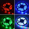 HML 5M 30W 300 x SMD 3528 Water Resistant Flexible RGB LED Strip Light with 24 Keys Remote Controller photo