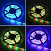 best HML 5M 30W 300 x SMD 3528 Water Resistant Flexible RGB LED Strip Light with 24 Keys Remote Controller