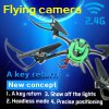 HT F802C WiFi Real Time Image Transmission Headless Mode 4CH RC Quadcopter with 0.4MP Camera 6 Axis Gyro RTF Drone Mode 2