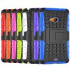 cheap Stand Design TPU and PC Material Tire Pattern Protective Back Cover Case for Microsoft Lumia 535