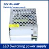 36W DC 12V 3A Switching Power Supply Driver for LED Strip Light for sale