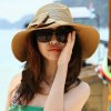 cheap Chic Weaving Bowknot Embellished Sun Hat For Women