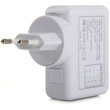 Practical Separated 100 - 240V Input Four USB Interface EU Plug Power Adapter