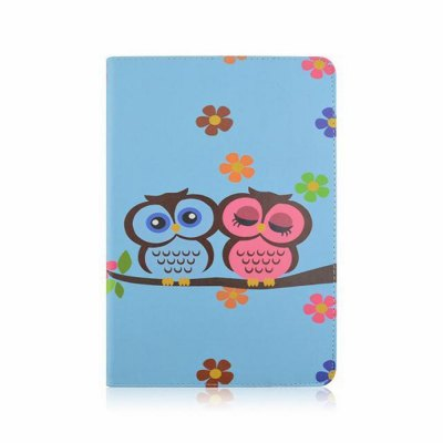 ФОТО Stand Design Owl Pattern Cover Case of PU and PC Material for iPad Air 2