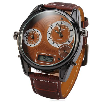Oulm 3581 3-Movt Male Watch